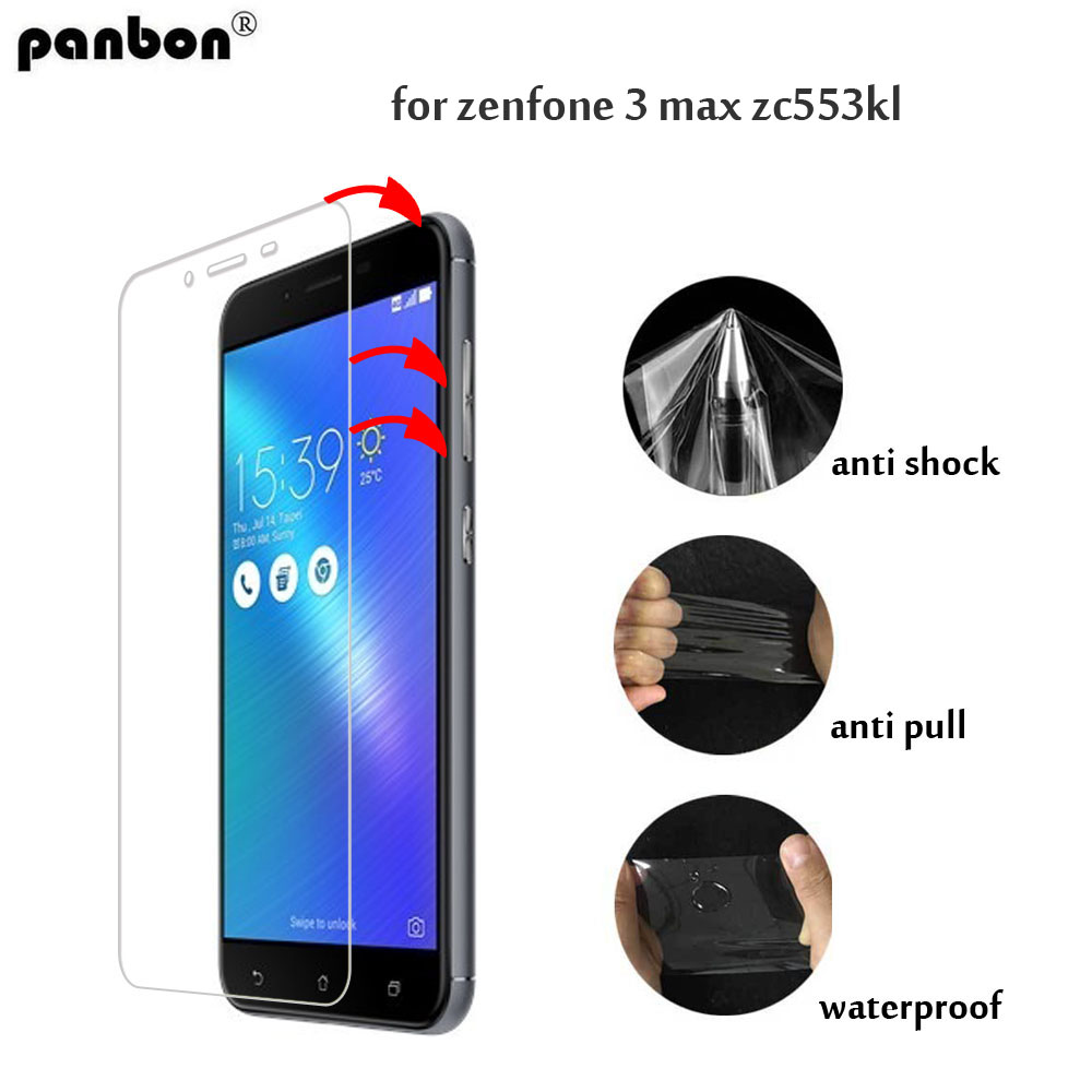 3D Soft Nano front Film for Asus Zenfone 3 Zoom S Max ZE553KL ZC553KL ZE552KL ZC550KL ZC551KL ZE520KL Screen Protecter Hydrogel in Phone Screen Protectors from Cellphones Telecommunications