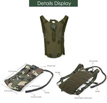 3L Water Bag Molle Military Tactical Hydration Backpack Water Bag Liner Camelback camping camelback bicycle mochila de Hydration