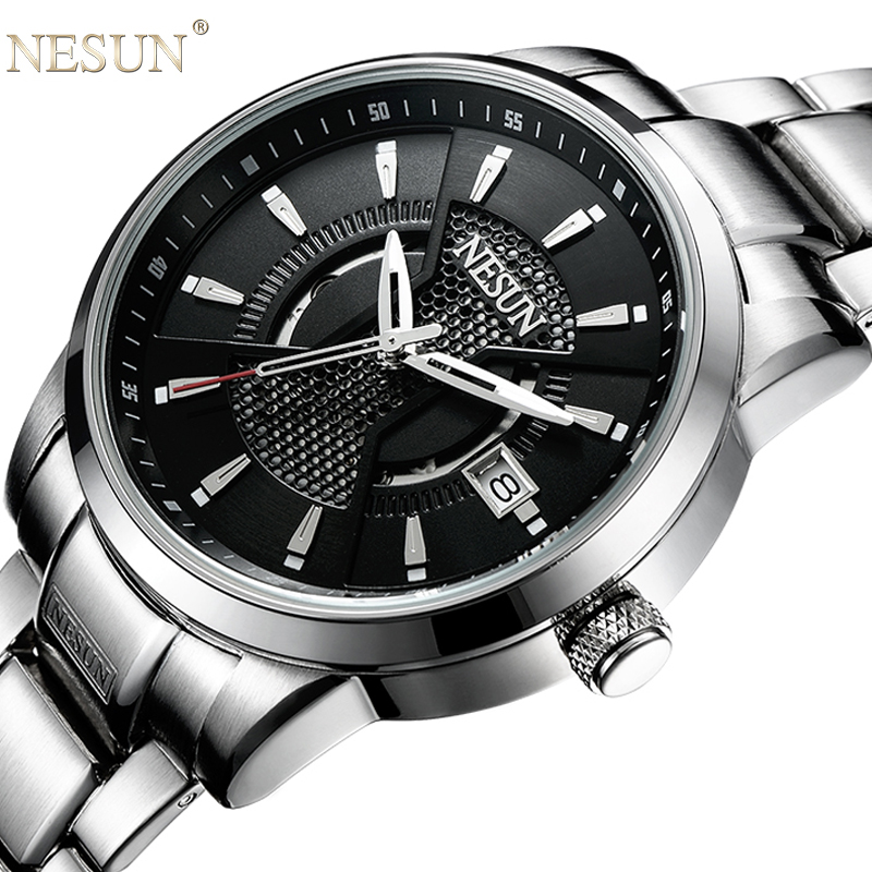 Nesun Watch Men Switzerland Japan NH35A Automatic Luxury Brand Men s Watches Sapphire Full Stainless Steel