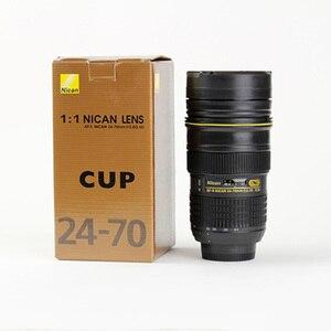 Image 5 - Tasse dobjectif dappareil photo 350 400 ML gobelet isolé dacier inoxydable de thé (modélisation Nikon AF S NIKKOR 24 70mm f/2.8G ED) tasse à café