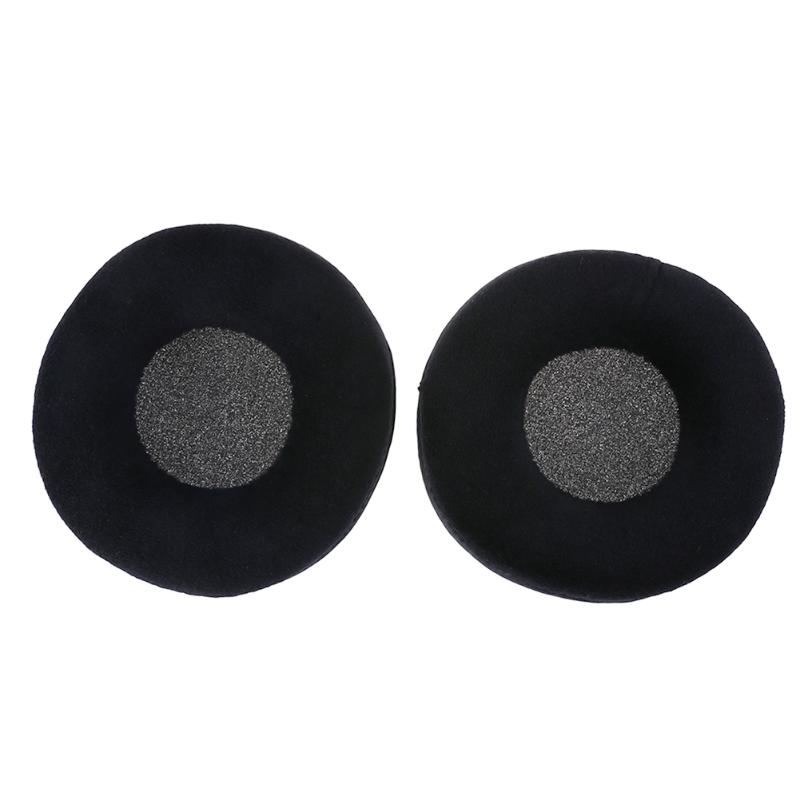 1 Pair Velvet Material Headset Ear Pads Headphone Ear Cushions Protector Replacement Ear Pads For Beyerdynamic DT770 DT880 DT990