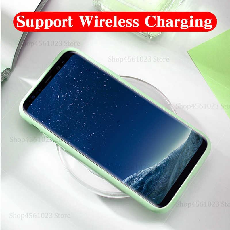 Coque arrière étui pour samsung Galaxy S 10plus 10e 9plus 8 9 10 S8 S9 S10 plus e S10e S10plus étui de protection d'été souple d'origine