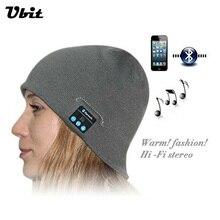 Умные носимые устройства Ubit, стерео, волшебная музыкальная шапка, Спортивная Беспроводная Bluetooth-гарнитура с функцией ответа на звонки для с...