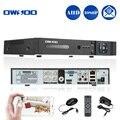 OWSOO 4CH AHD DVR H.264 1080 P P2P Seguridad CCTV DVR AVR Dual-Stream RS485 $ NUMBER CANALES Grabador de Vídeo Digital De Seguridad AHD cámara