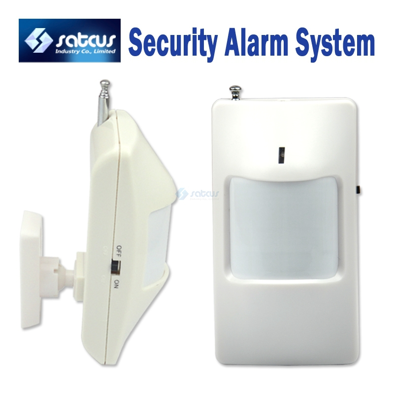 Wireless PIR Sensor/Motion Detector For Wireless GSM/PSTN Auto Dial Home Security Alarm System Without 9V Battery big promotions pir infrared beam motion detector for home security gsm wifi pstn alarm system wired wireless beam sensor