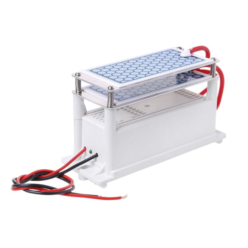 <font><b>220V</b></font> 10g/h Ceramic Plate <font><b>Ozone</b></font> <font><b>Generator</b></font> Double Integrated Ozonizer Sterilizer Air <font><b>Water</b></font> Purifier image
