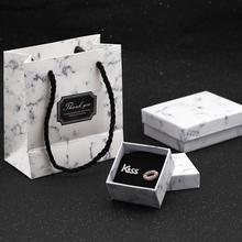 Zhijia biżuteria małe średnie duże pudełka z biżuterią pudełka na prezenty ślubne pudełka na prezenty prezenty pudełka prezenty dla dziewczyn tanie tanio 5 3cm Papier Opakowanie i wyświetlacz biżuterii gift boxes BZH-1 3 1cm