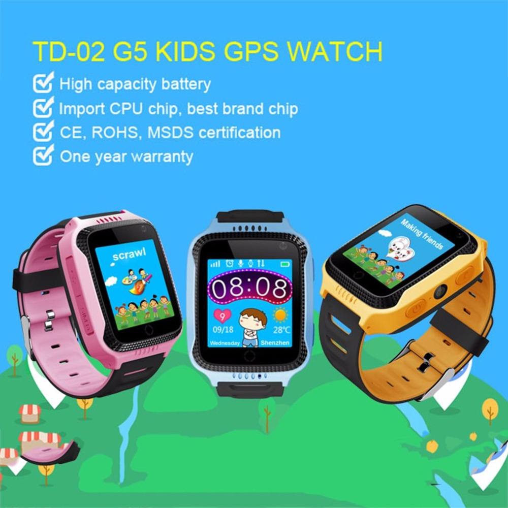 Q528 Child Smart Watch Wristwatch Kids LBS Finder Locator SOS Call Position Anti-lost Tracker Child Safe Monitor Smartwatch 2018