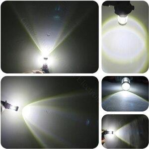 Image 4 - WLJH 2pcs 9006 HB4 30W Epistar Led Chip Lamp Light Bulbs Lens Car Accessories External Led Fog Light Bulbs For BMW E46 330ci