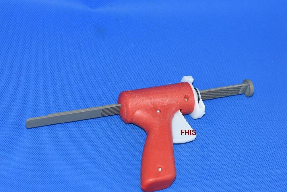 Wholesale 30ML / 30CC manual syringe gun single liquid glue gun 10sets / lot 30ml manual syringe gun single liquid glue gun