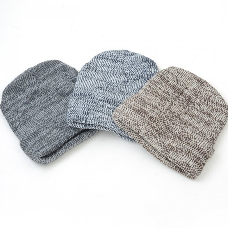 Autumn Winter Beanie Warm Hat Knitted Wool Cap Skullies Caps Ladies Knit Winter Hats for Women Beanies Men Cool Hip-Hop Cap wool skullies cap hat 10pcs lot 2289