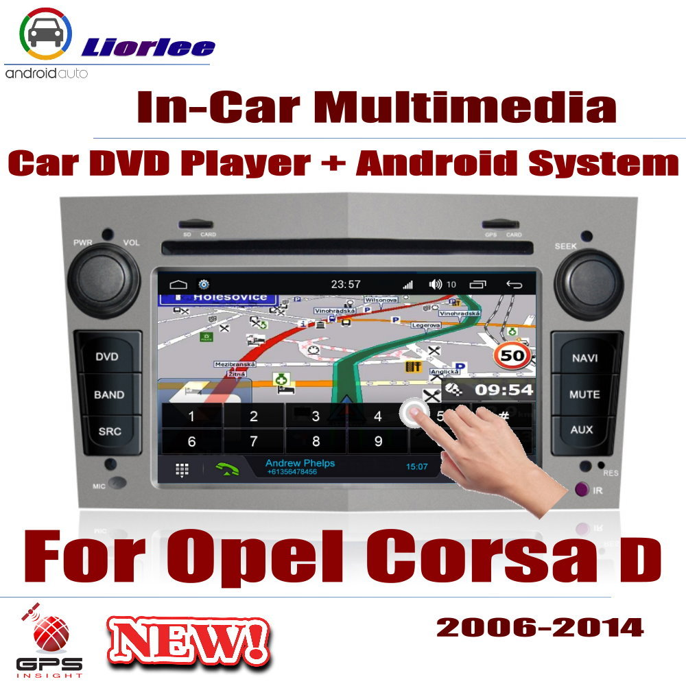 Car <font><b>Radio</b></font> DVD Player GPS Navigation For <font><b>Opel</b></font> <font><b>Corsa</b></font> D 2006~<font><b>2014</b></font> Android HD Displayer System Audio Video Stereo In Dash Head Unit image