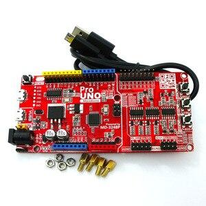 Image 3 - Massduino UNO Pro R3 arduino uno r3 uyumlu DAQ 16bit ADC 16bit DAC dahili 4.096V referans kaynağı V usb mikro USB kablosu