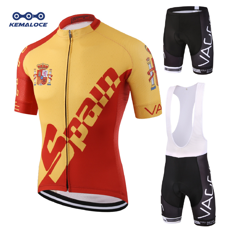 ffc313912 Spain 2019 Breathable Ropa Ciclismo Mtb Men Cycling Clothing Shirts Maillot Bicycle  Clothes Team Summer Racing