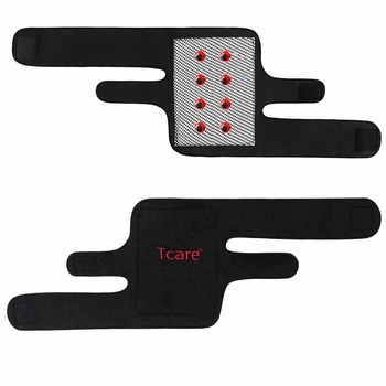 1 Pair Tcare Tourmaline Self -heating Kneepad Magnetic Therapy Knee Support Tourmaline Knee Brace Belt Knee Massager 1