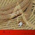 Frete grátis corda de cânhamo rodada cabo de 100 Metros 2x0.75 Cabo de matéria têxtil Do Vintage Retro corda de Fio Elétrico cabo de tecido cabo