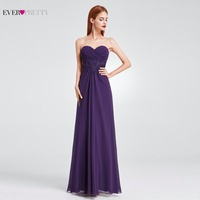 Long Evening Party Dress Ever Prtty EP08864 Chiffon Off The Shoulder Floor Length Evening Dresses A