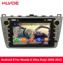 KLYDE 8″ 4G WIFI Android 8 Octa Core 4GB RAM 32GB ROM Car DVD Multimedia Player For Mazda 6 Ultra Ruiyi 2008 2009 2010 2011 2012