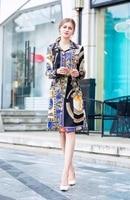 Готический, викторианской эпохи Англия, британский Панк Rave ЛОЯЛЬНЫЕ суд печати Ремень куртка с галстуком цельные платья для женщин