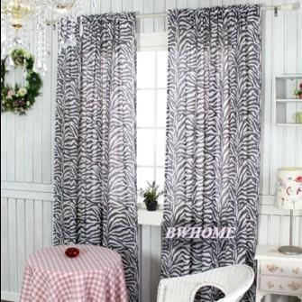 morden cortinas para windows dormitorio sala de estar breve impresin de la cebra grupos de cortinas