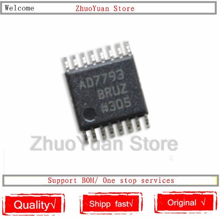 10 ピース/ロット AD7793 AD7793BRUZ TSSOP16 AD7793 チップ新オリジナル IC  グループ上の 家電製品 からの 音声認識/制御モジュール の中 1