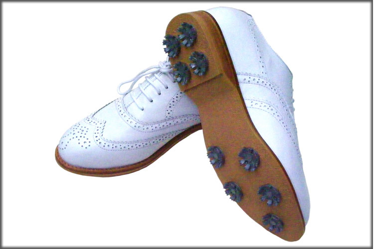 ... The Roof Of Brand Woman Golf Shoes Handmade Shoes White Shoes  Dichotomanthes Bottom 2001 2 ...