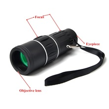 16X52 HD Monocular Telescope Dual Focusing Adjustment Vision Binocular Spotting Scope Hunting Watching Camping Telescope