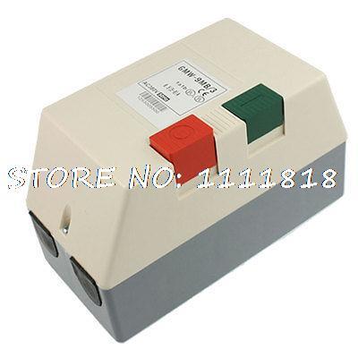 цена на AC 380V 5-8A 4HP Three Phase Motor Start Stop Control Magnetic Starter