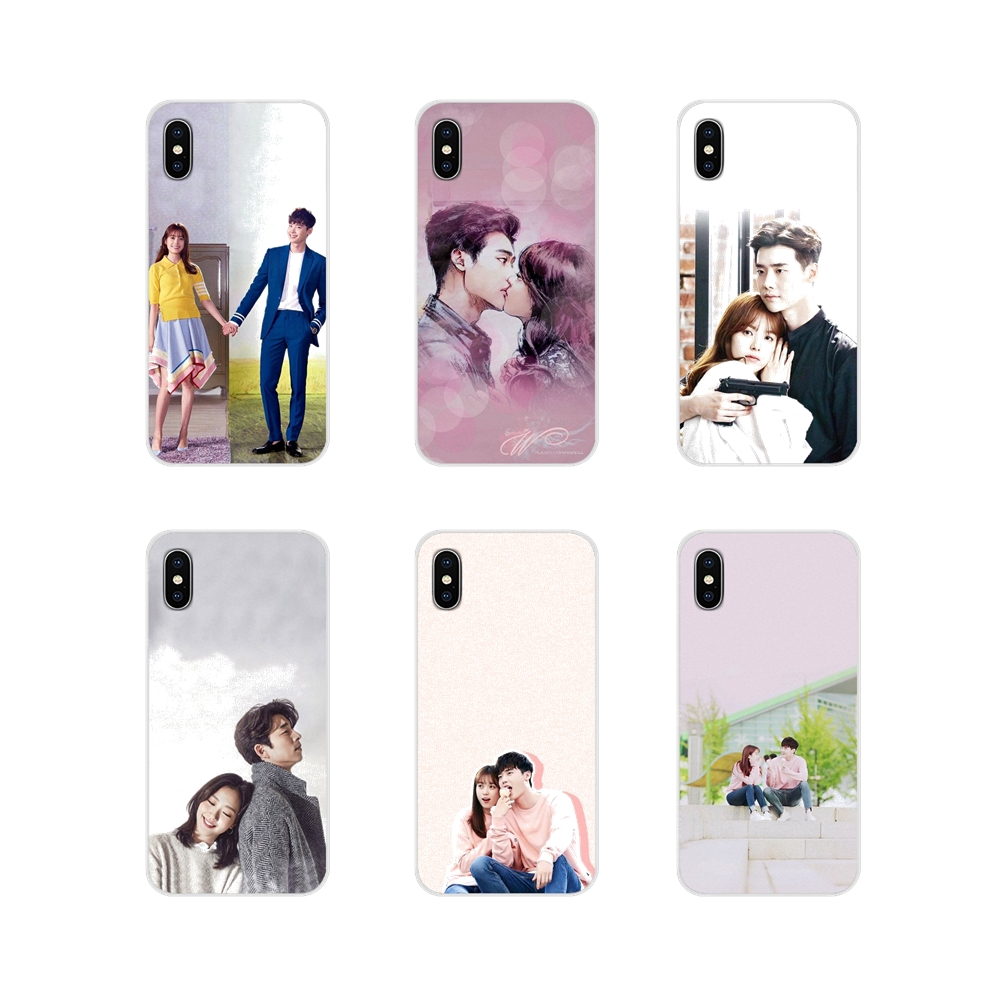 Accessories Phone Cases Covers For Samsung Galaxy S4 S5 MINI S6 S7 edge S8 S9 S10 Plus Note 3 4 5 8 9 W-Two Worlds korean drama image
