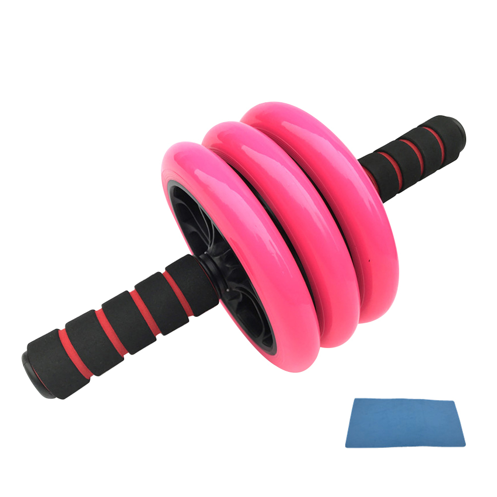 Abdominal Machine Ab Roller Fitness Body Building Abdomen Muscle Trainer Exercise Machine Abdominal Wheel