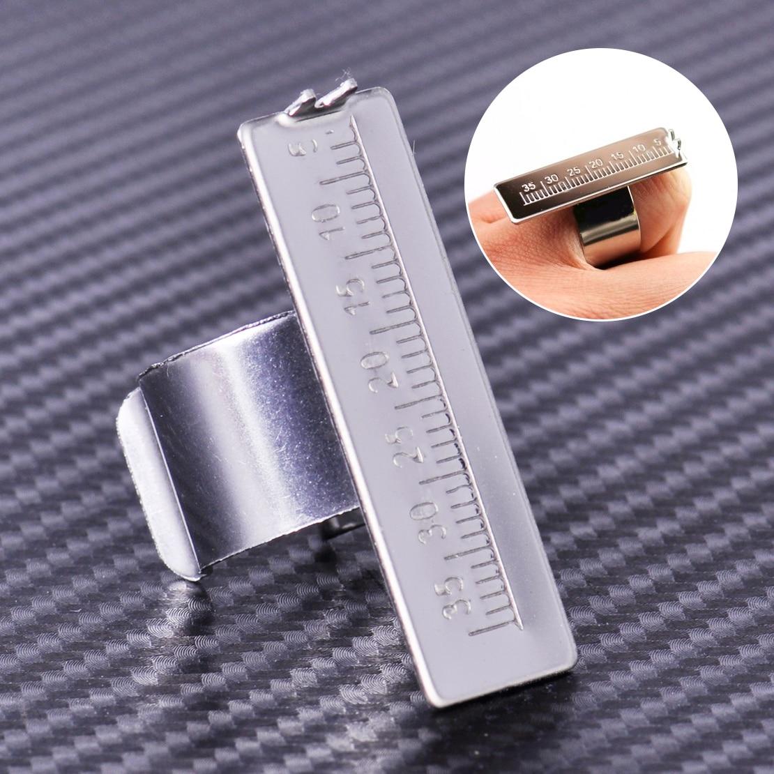 New Metal Dental Equipment Endodontic Finger Ruler For