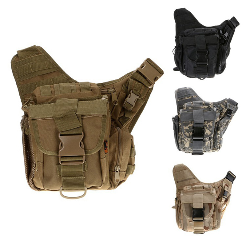 Outdoor Sport Camping Hiking Trekking Waist Bag Military Tactical Backpack Shoulder Bag Camera Bag Multi-function Saddle Bag outlife new style professional military tactical multifunction shovel outdoor camping survival folding spade tool equipment