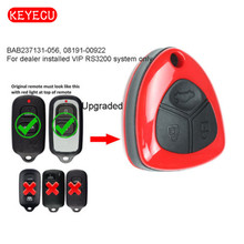 Keyecu Upgraded Replacement Remote Key 3 Button for Toyota Tundra Echo BAB237131 056 RS3200