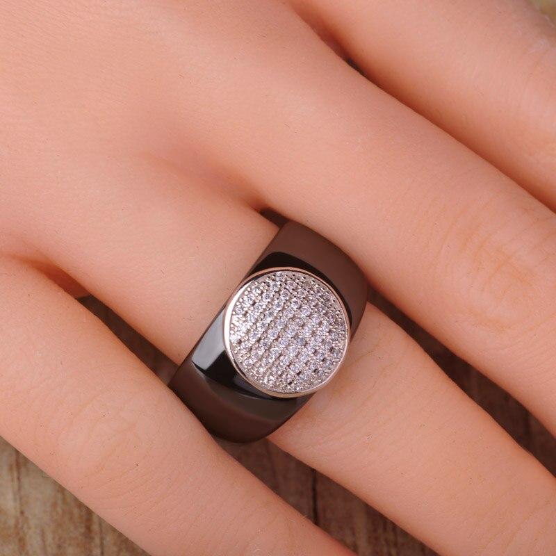 Dazz απλό μαύρο στρογγυλό ζιργκόν - Κοσμήματα μόδας - Φωτογραφία 4