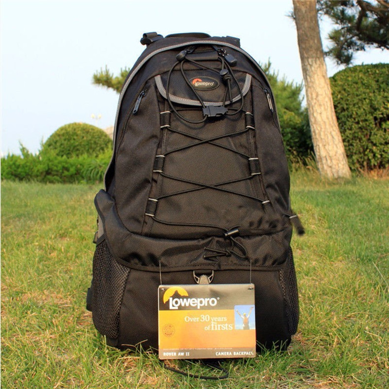 купить NEW High Quality Lowepro Rover AW II Photo DSLR Camera Bag Backpack with All Weather Cover