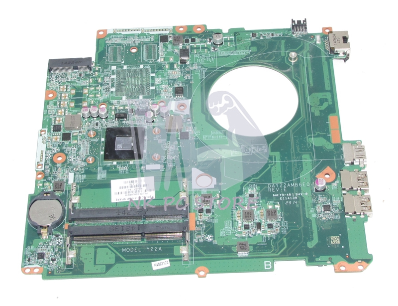 763422-501 763422-001 For HP Pavilion 17-F Laptop motherboard DAY22AMB6E0 CPU Onboard DDR3 Full tested 712921 501 712921 001 for hp 4540s 4440s motherboard 4540s notebook with cpu i3 3110m ddr3 tested