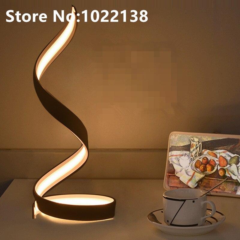 Table Lamp Bedroom Beside Light Simple Modern Study Desk Lamp Nordic Art Decor Lamp Living Room White LED Table Lamp все цены