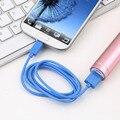 1 м 3ft Круглый V8 USB к Micro USB Зарядка Кабель для Передачи Данных для Samsung для HTC для Motorola Продвижение