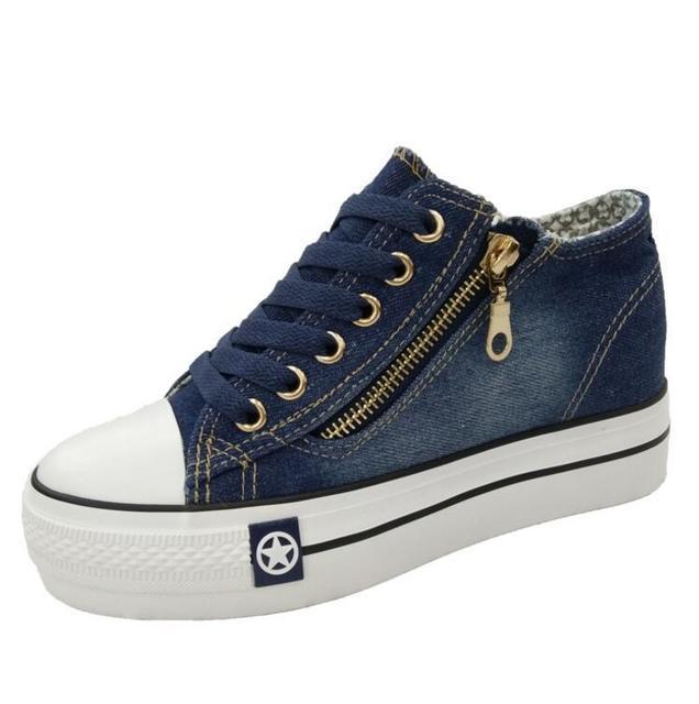 Denim Casual Shoes  Women's 3