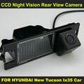 PARA HYUNDAI New Tucson Ix35 2005-2014 visão CCD noite Visão Traseira Do Carro Câmera Reversa Do Carro 8087B