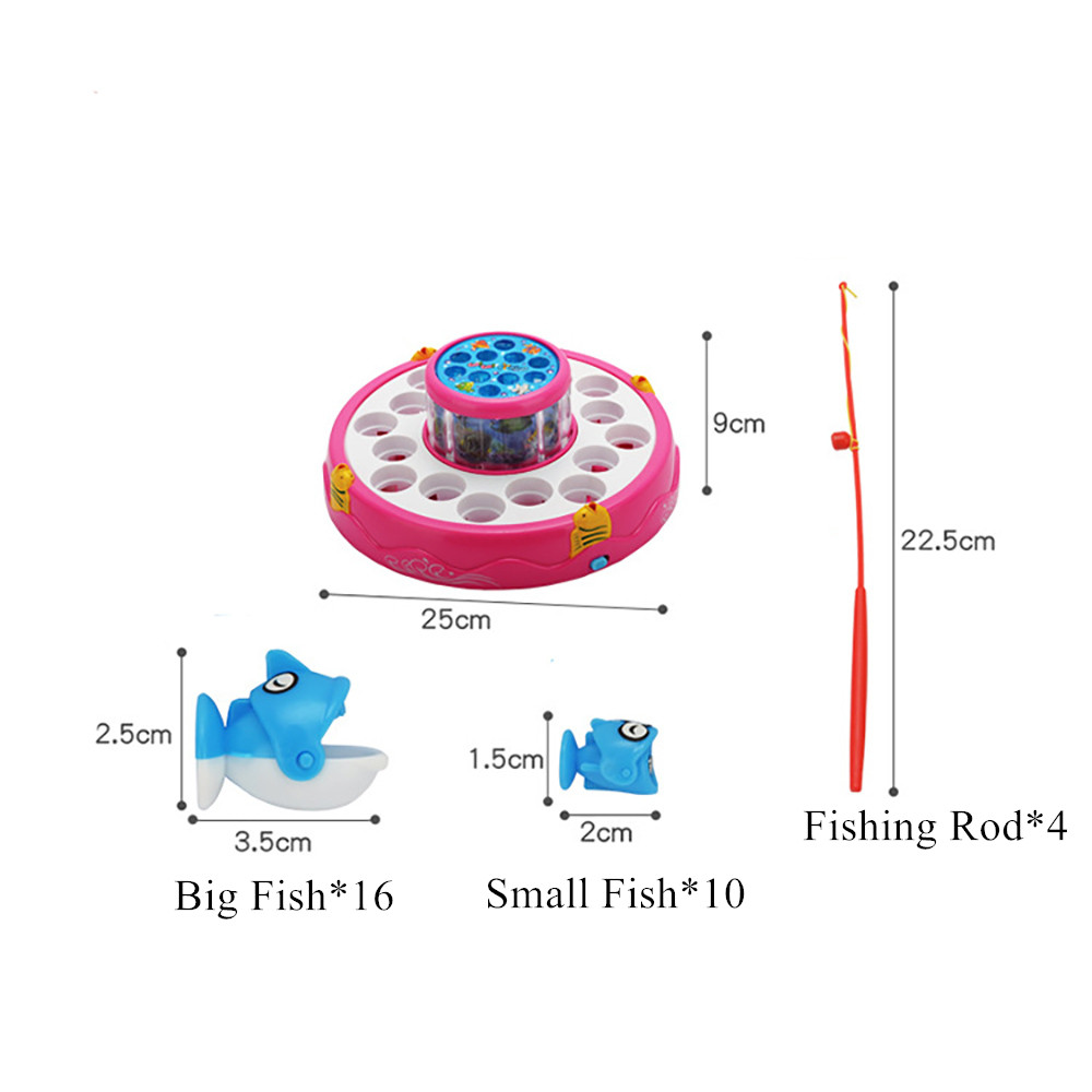 Yuanlebao 26 Pieces Fishing Toy Bath Magnetic Toys Waterproof Floating Fish Playsets with Pool Learning Education Toy for Kids