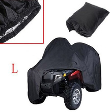 Quad Bike ATV Cover Black Waterproof Resistant Dustproof Anti UV Motorcycle Vehicle Car ATV Covers  dfdf