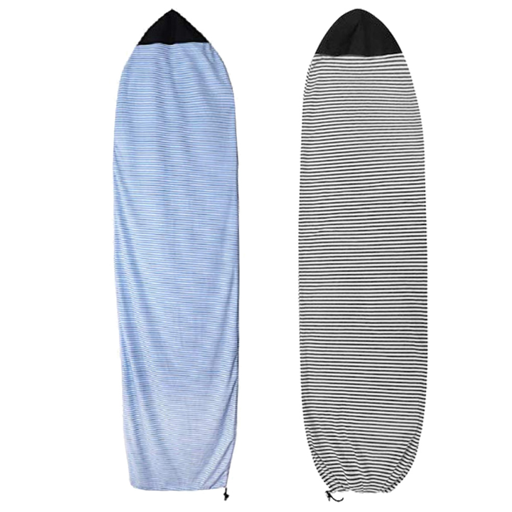1pc 6/6.5/7.5ft Surfboard Socks Cover Surf Board Protective Bag Storage Case Water Sports Shortboard Funboard Surfing Sport