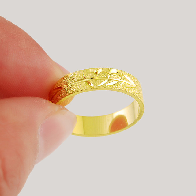 plated open com from adjustable size dhgate product for plain ring girls rings engagement wedding girl cotter end gold