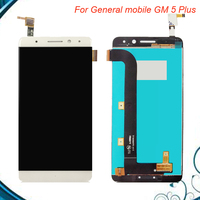Tested Working For 5.5'' General mobile GM 5 Plus Touch screen lcd display screen assembly for GM5 Plus Android one