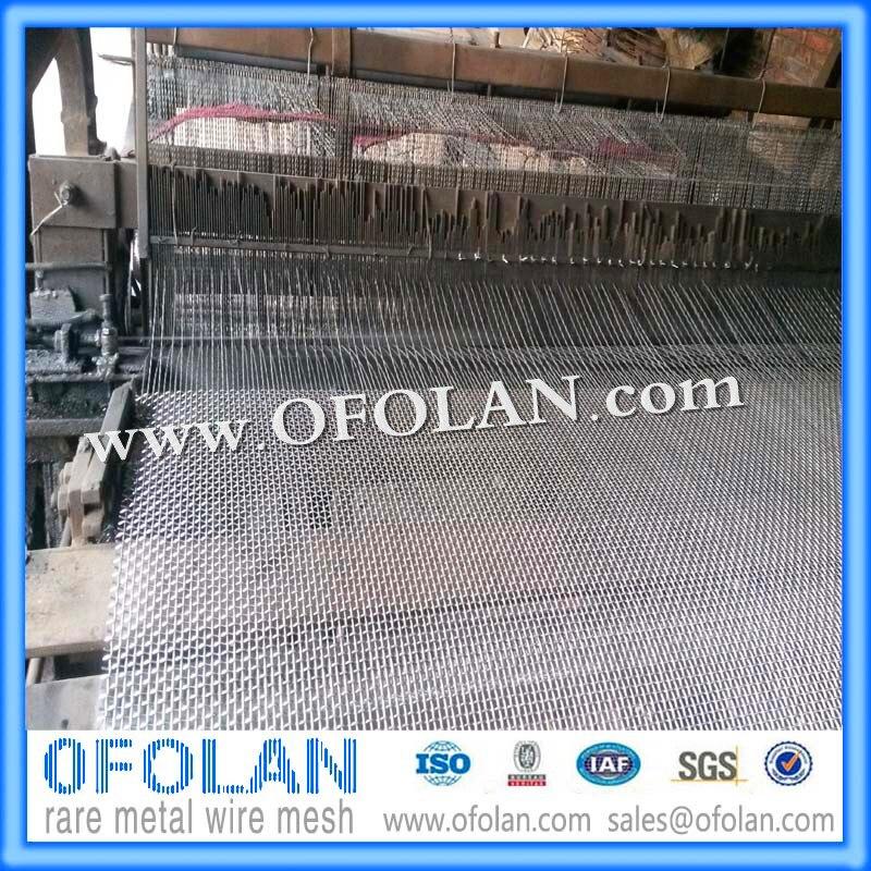 Elektrode Pure Nikkel 200/UNS N02200 Netting In Accu Of Elektrolytische Tank, 10 Mesh 500mm * 1000mm Voorraad Levering - 2