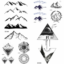 Buy Tattoo Mountain And Get Free Shipping On Aliexpress Com