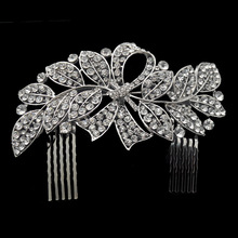 2015 Newest ClipsFor Hair Vintage Inspired Bridal Wedding Comb,wedding Accessories,crystal Comb,bridal Headpieces