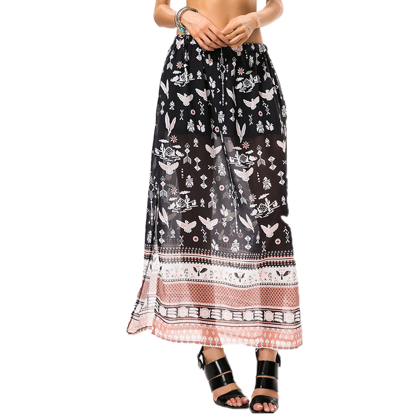Long Patterned Skirts Promotion-Shop for Promotional Long ...