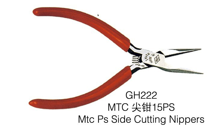 Promotional GH222 Mtc Ps Side Cutting Nippers , goldsmith tools